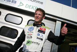 Pole winner Marco Wittmann, Signature, Dallara F308 Volkswagen