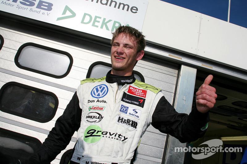 Polepositie Marco Wittmann, Signature, Dallara F308 Volkswagen