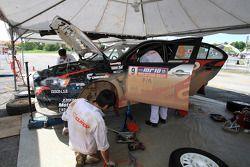 Yuya Sumiyama avec co-pilote Naoki Kasea du Cusco Racing