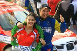 Rifat Sungkar of Pertamina Rally Team