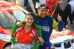 Rifat Sungkar du Pertamina Rally Team