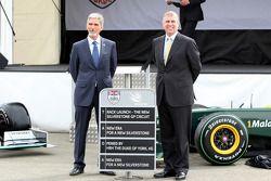 Damon Hill, BRDC Başkanı, ve HRH Prens Andrew, Duke, York