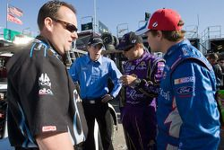 Matt Kenseth, Ricky Stenhouse Jr. et Colin Braun