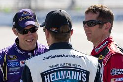 Jamie McMurray, Matt Kenseth et Greg Biffle