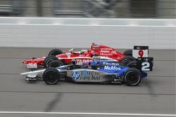 Scott Dixon, Target Chip Ganassi Racing met Raphael Matos, de Ferran Luzco Dragon Motorsports