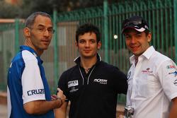 Alain Menu, Chevrolet, Chevrolet Cruze LT, Sergio Hernetez, Scuderia Proteam Motorsport, BMW 320si et Augusto Farfus, BMW Team RBM, BMW 320si