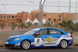 Alain Menu, Chevrolet, Chevrolet Cruze LT en glissade