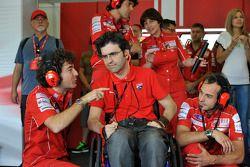 Ducati Marlboro Team pit box