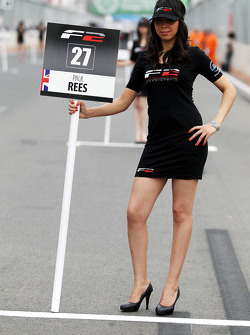 Grid girls de F2
