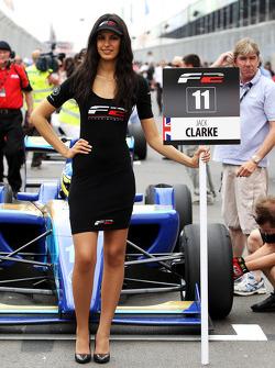 Grid girl for Jack Clarke