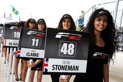 Formula Two grid girls
