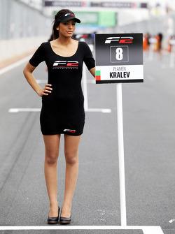 Grid girl for Plamen Kralev