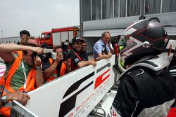 Philipp Eng finished race 1 in second place