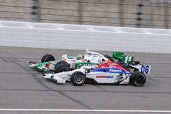 Hideki Mutoh, Newman/Haas Racing rijdt met Tony Kanaan, Andretti Autosport