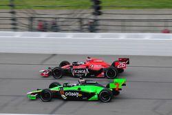 Marco Andretti, Andretti Autosport, rent met Danica Patrick, Andretti Autosport