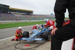 Dario Franchitti, Target Chip Ganassi Racing maakt een pitstop