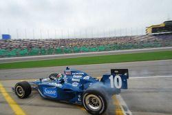 Dario Franchitti, Target Chip Ganassi Racing verlaat de pits