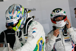 Andy Priaulx, BMW Team RBM, BMW 320si and Augusto Farfus, BMW Team RBM, BMW 320si