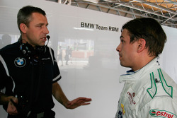 Bart Mampaey, Team Principal, BMW Team RBM and Augusto Farfus, BMW Team RBM, BMW 320si