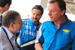 Jean Todt, President de la FIA à Chevrolet
