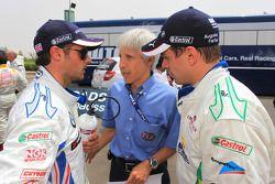 Andy Priaulx, BMW Team RBM, BMW 320si and Augusto Farfus, BMW Team RBM, BMW 320si