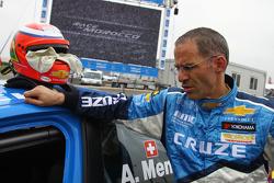 Alain Menu, Chevrolet, Chevrolet Cruze LT accidenté