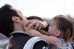 Sam Hornish Jr., Penske Racing Dodge en dochter Addison