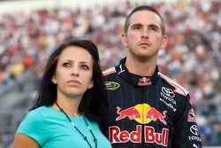 Scott Speed, Red Bull Racing Team Toyota en vrouw Amanda Mathis