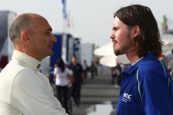 Gabriele Tarquini, SR - Sport, Seat Leon 2.0 TDI et James Thomson