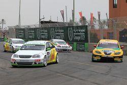 Harry Vaulkhard, Bamboo-engineering, Chevrolet Lacetti en Jordi Gene, SR - Sport, Seat Leon 2.0 TDI