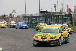 Gabriele Tarquini, SR - Sport, Seat Leon 2.0 TDI devant