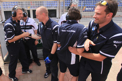 BMW Team RBM heureux