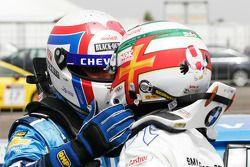 Yvan Muller, Chevrolet, Chevrolet Cruze LT and Andy Priaulx, BMW Team RBM, BMW 320si