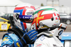 Yvan Muller, Chevrolet, Chevrolet Cruze LT and Andy Priaulx, BMW Team RBM, BMW 320si