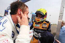Andy Priaulx, BMW Team RBM, BMW 320si and Tom Coronel, SR - Sport, Seat Leon 2.0 TDI