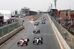 Will Bratt bij de start van de race