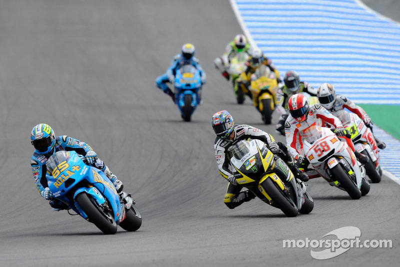 Loris Capirossi, Rizla Suzuki MotoGP, Colin Edwards, Monster Yamaha Tech 3