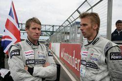 Peter Dumbreck en Michael Krumm