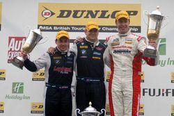 Race 3 Podium: 1st Mat Jackson, 2nd Matt Neal, 3rd Steven Kane