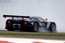 #5 Matech Competition Ford GT: Thomas Mutsch, Romain Grosjean wordt geraakt en spint