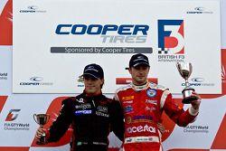National class podium: Luiz Razia en James Cole