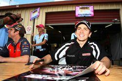 Autograph session: #3 Centaur Racing: Tony D'Alberto