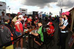 Autograph session: #21 Fair Dinkum Sheds Racing: Karl Reindler