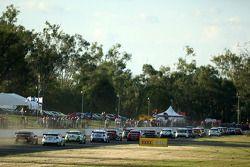 V8 Supercars op de rechte lijn