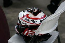 Helmet of Tony D'Alberto