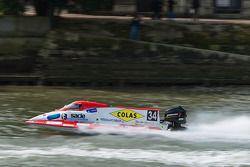 #34 Team Neptune Inshore: Nicolas Froumentin, Stéphane Octau, Yohann Boutrais, Gérald Vatinel