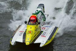 #88 Team Marine Inshore: Xavier Hanin, Jean-Luc Gouvon, Antoine Boutrais, Hervé Pointier