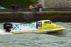 #28 Team Marine Inshore: Philippe Boutrais, Philippe Buquet, Romain Heluin, Christophe Drouet