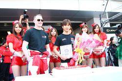 #38 Zent Cerumo SC430: Yuji Tachikawa, Richard Lyons