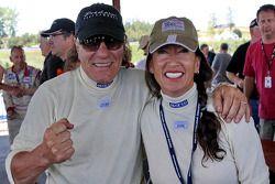AC/DC's zanger Brian Johnson en zijn vrouw Brenda